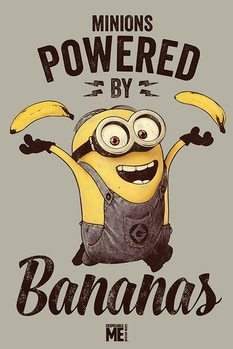 Despicable Me - Powered by Bananas Poster