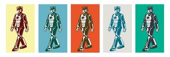 Doctor Who - Walking Cyberman Poster
