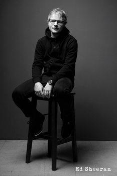 Ed Sheeran - Black and White Poster