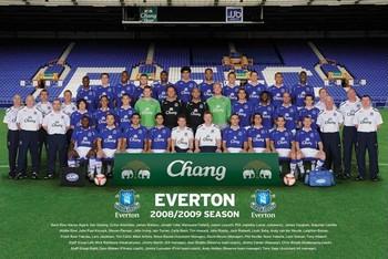 Everton - Team Poster