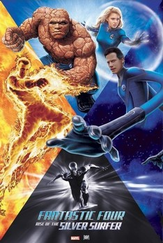 Fantastic Four- Rise Poster