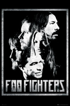 Foo Fighters - euro group Plakat