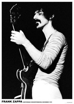 Frank Zappa - Amsterdam '70 Poster