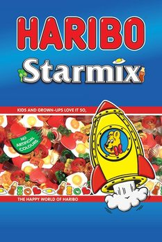 Haribo - Starmix Poster