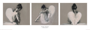 Hazel Bowman - Angel Wings Poster