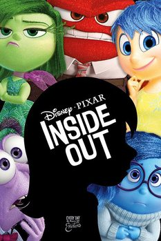 Inside Out - Silhouette Plakat