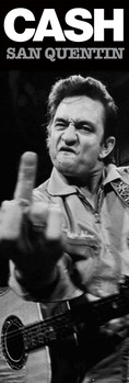 Johnny Cash - san quentin Poster