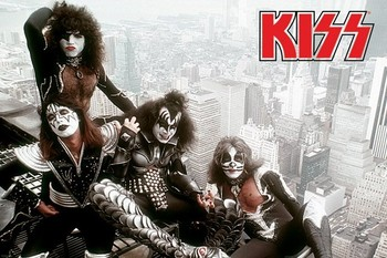Kiss - new york city Poster
