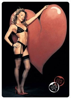 Kylie - heart Poster