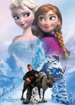La Reine des neiges - Collage Poster