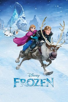 La Reine des neiges - Ride Poster