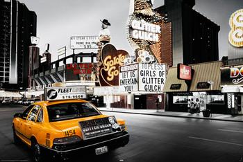 Las Vegas - taxi Poster