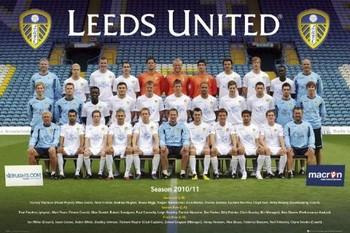 Leeds United - Team photo 10/11 Poster