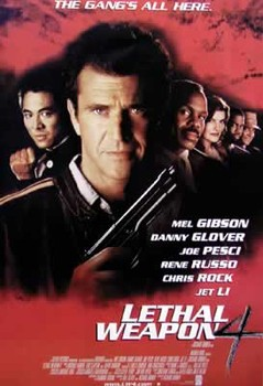 LETHAL WEAPON 4 Plakat