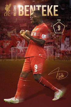 Liverpool FC - Benteke 15/16 Plakat