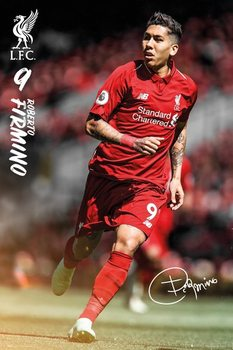 Liverpool - Roberto Firmino 18/19 Poster