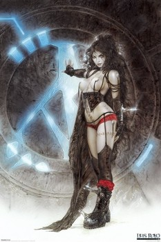 Luis Royo - machine Poster