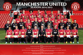 Manchester United FC - Team Photo  Plakat
