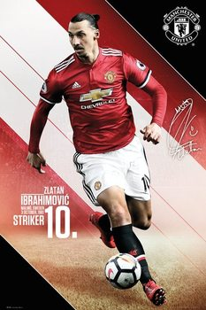 Manchester United - Ibrahimovic 17-18 Poster