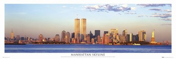 Manhattan - skyline Poster