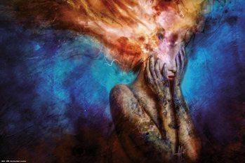 Mario Sanchez  Nevado - Psycho Climatic Poster