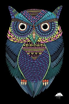 Mulga - Michael the Magical Owl Plakat