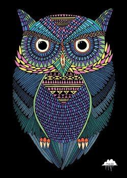 Mulga - Michael the Magical Owl Poster