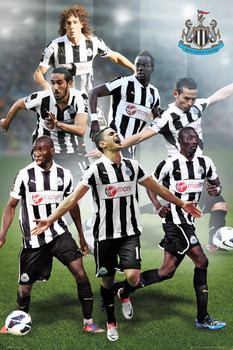 Newcastle United - players 12/13 Poster