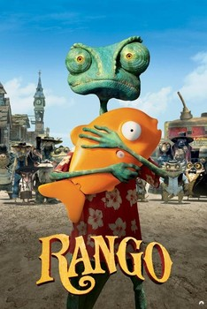 RANGO - one sheet Poster