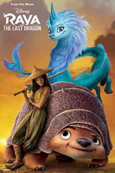 Poster Raya and the Last Dragon - Sunset