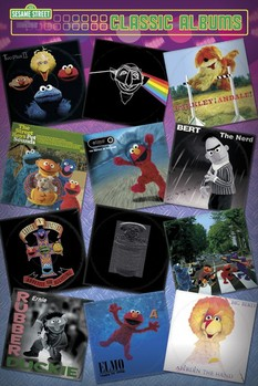 SESAME STREET - classic albums Poster