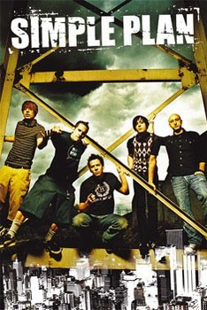 Simple Plan - portrait Poster