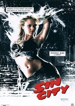SIN CITY - nancy Poster