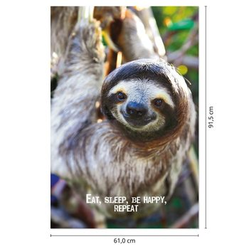Smile - Sloth Poster