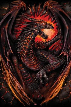 Spiral - Dragon Furnace Poster