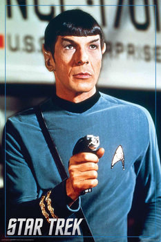Star Trek - Spock, Leondar Nimoy Plakat
