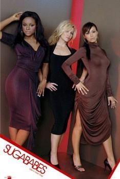 Sugababes - taller Plakat