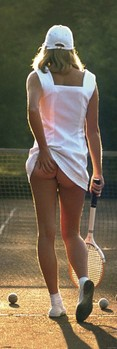 Tennis girl Plakat