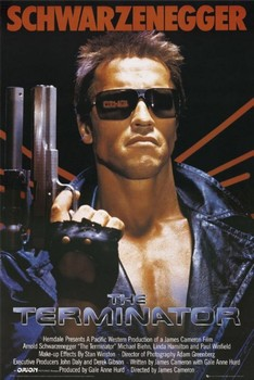 TERMINATOR - one sheet Plakat