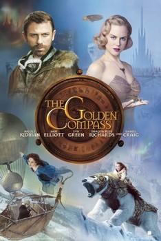 THE GOLDEN COMPASS - one sheet Plakat