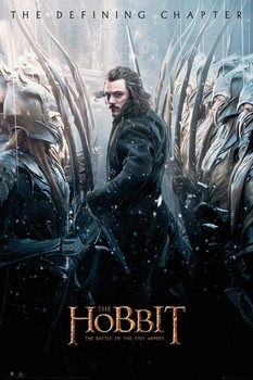 The Hobbit 3: Battle of Five Armies - Bard Plakat