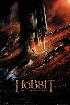 THE HOBBIT: THE DESOLATION OF SMAUG - Dragon Plakat