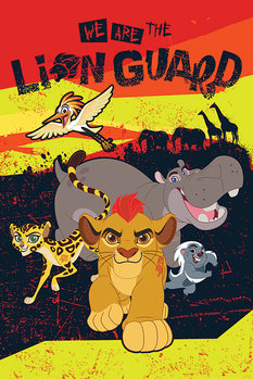 The Lion Guard - We Are Poster