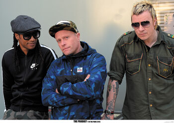 Poster The Prodigy - Backstage at T In The Park festival, Scotland July 2015