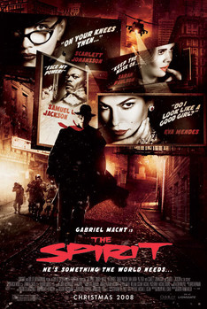 THE SPIRIT - one sheet Plakat