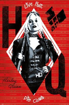 Poster The Suicide Squad - Harley Quinn