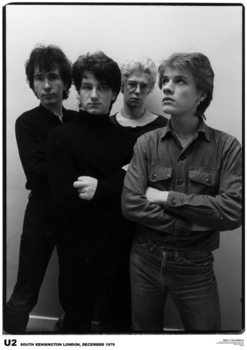 U2 - London '79 Poster