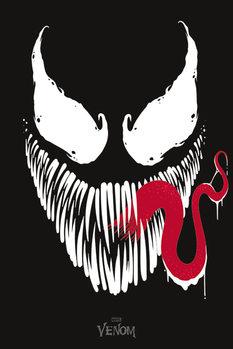 Venom - Face Poster