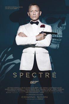 007 Spectre: A Fantom visszatér - Skull plakát