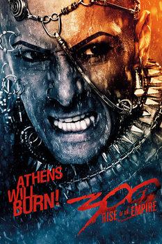 300: A BIRODALOM HAJNALA - athens Plakát